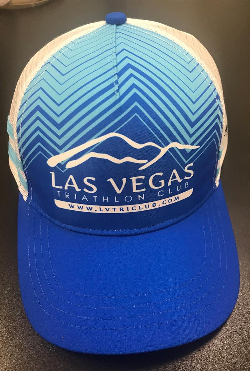 LVTriClub Trucker Hat Blue