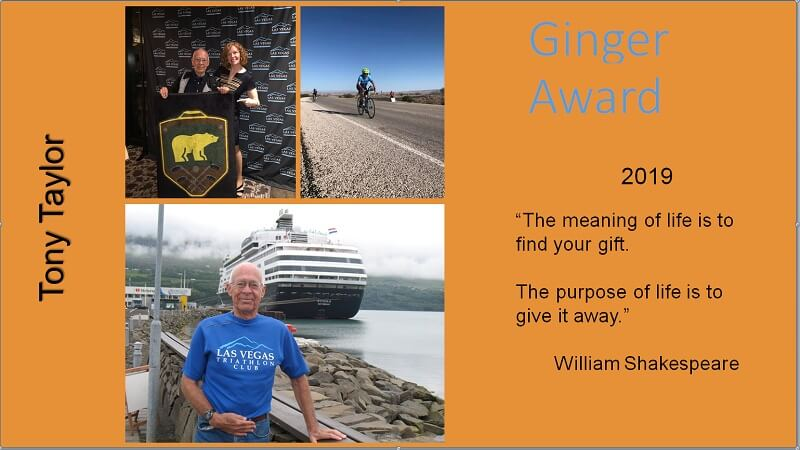 2019 Ginger Award